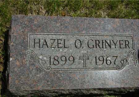 GRINYER, HAZEL O. - Sac County, Iowa   HAZEL O. GRINYER