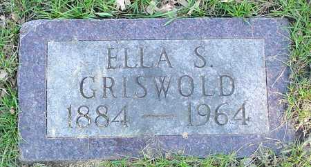GRISWOLD, ELLA S. - Sac County, Iowa | ELLA S. GRISWOLD