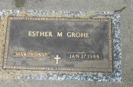 HEMMINGSEN GROHE, ESTHER MAE - Sac County, Iowa | ESTHER MAE HEMMINGSEN GROHE