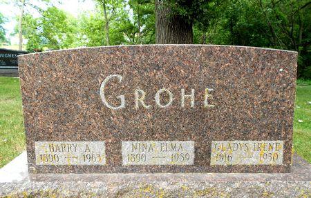 MOONEY GROHE, NINA ELMA - Sac County, Iowa | NINA ELMA MOONEY GROHE