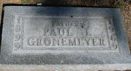 GRONEMEYER, PAUL J. - Sac County, Iowa   PAUL J. GRONEMEYER