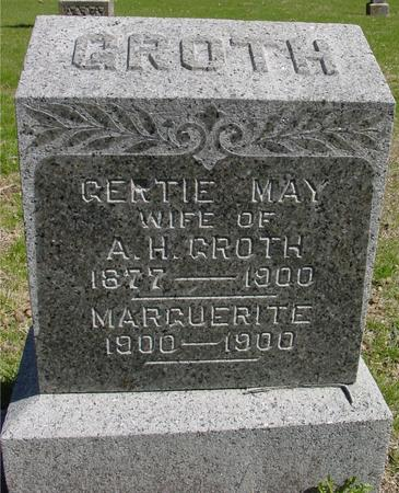 GROTH, GERTIE MAY - Sac County, Iowa | GERTIE MAY GROTH