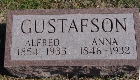 GUSTAFSON, ALFRED & ANNA - Sac County, Iowa | ALFRED & ANNA GUSTAFSON