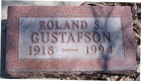 GUSTAFSON, ROLAND S. - Sac County, Iowa   ROLAND S. GUSTAFSON