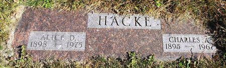 HACKE, CHARLES ALBERT - Sac County, Iowa | CHARLES ALBERT HACKE