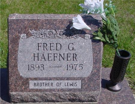 HAEFNER, FRED G. - Sac County, Iowa | FRED G. HAEFNER