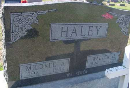 HALEY, MILDRED A. - Sac County, Iowa | MILDRED A. HALEY