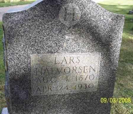 HALVORSEN, LARS - Sac County, Iowa   LARS HALVORSEN