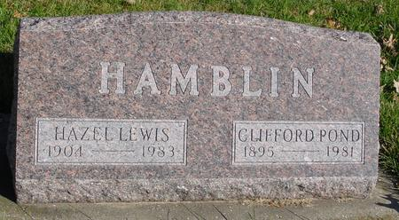 HAMBLIN, CLIFFORD & HAZEL - Sac County, Iowa | CLIFFORD & HAZEL HAMBLIN