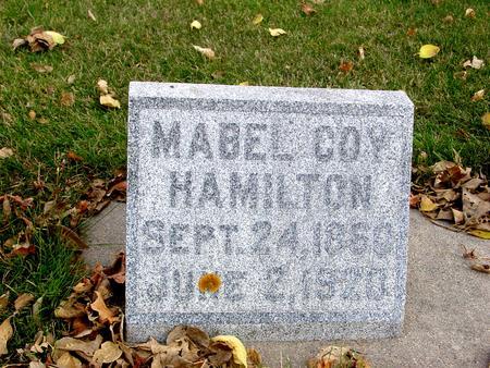 HAMILTON, MABEL - Sac County, Iowa | MABEL HAMILTON