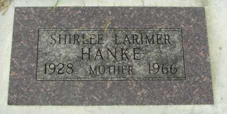 LARIMER HANKE, SHIRLEE - Sac County, Iowa | SHIRLEE LARIMER HANKE