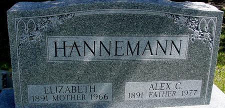 HANNEMANN, ALEX & ELIZABETH - Sac County, Iowa | ALEX & ELIZABETH HANNEMANN