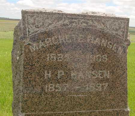 HANSEN, MARGRETE - Sac County, Iowa   MARGRETE HANSEN