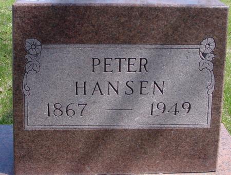 HANSEN, PETER - Sac County, Iowa   PETER HANSEN
