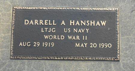 HANSHAW, DARRELL A - Sac County, Iowa | DARRELL A HANSHAW
