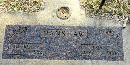 MARCELL HANSHAW, ELMA EDITH - Sac County, Iowa | ELMA EDITH MARCELL HANSHAW