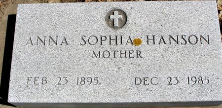 HANSON, ANNA SOPHIA - Sac County, Iowa | ANNA SOPHIA HANSON