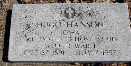 HANSON, HUGH - Sac County, Iowa   HUGH HANSON