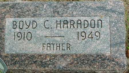 HARADON, BOYD C. - Sac County, Iowa | BOYD C. HARADON