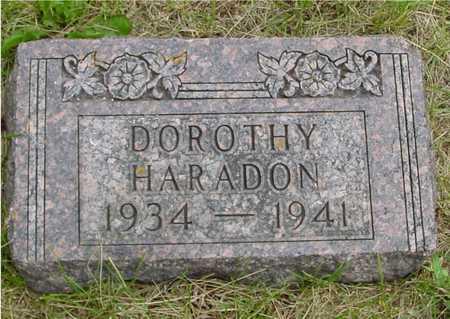 HARADON, DOROTHY - Sac County, Iowa | DOROTHY HARADON