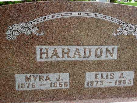 HARADON, ELIS & MYRA J. - Sac County, Iowa | ELIS & MYRA J. HARADON