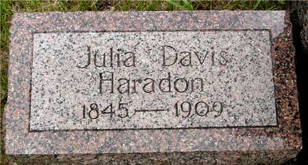 HARADON, JULIA - Sac County, Iowa | JULIA HARADON