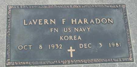 HARADON, LAVERN F. - Sac County, Iowa | LAVERN F. HARADON