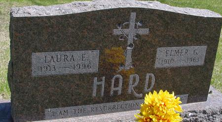 HARD, ELMER G. & LAURA E. - Sac County, Iowa | ELMER G. & LAURA E. HARD