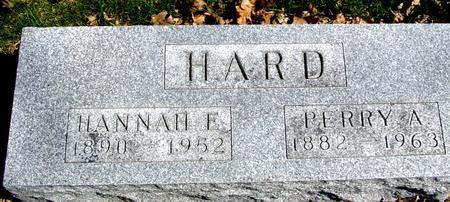 HARD, PERRY A. & HANNAH - Sac County, Iowa | PERRY A. & HANNAH HARD