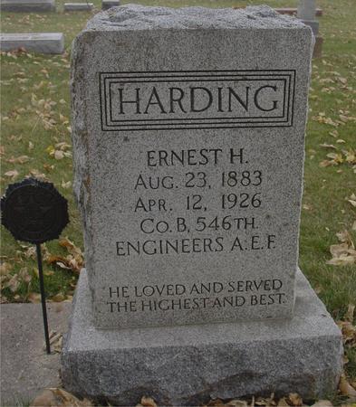 HARDING, ERNEST H. - Sac County, Iowa   ERNEST H. HARDING