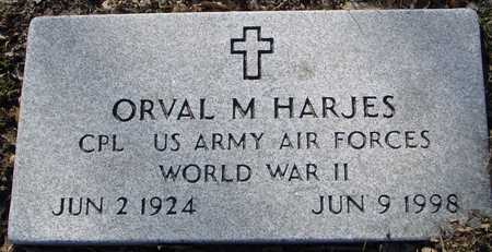 HARJES, ORVAL M. - Sac County, Iowa | ORVAL M. HARJES
