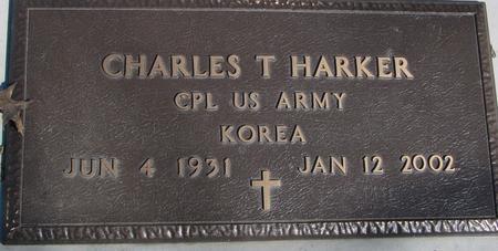 HARKER, CHARLES T. - Sac County, Iowa   CHARLES T. HARKER