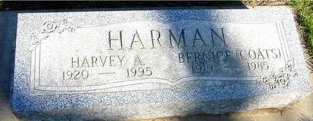 HARMAN, HARVEY & BERNICE - Sac County, Iowa | HARVEY & BERNICE HARMAN