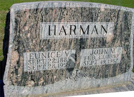 HARMAN, JOHN M. & EUNICE V. - Sac County, Iowa | JOHN M. & EUNICE V. HARMAN