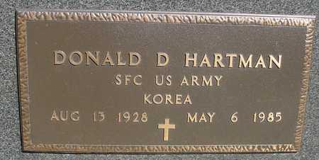HARTMAN, DONALD D. - Sac County, Iowa | DONALD D. HARTMAN