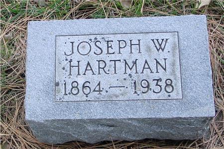 HARTMAN, JOSEPH W. - Sac County, Iowa | JOSEPH W. HARTMAN