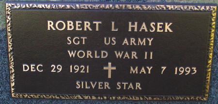 HASEK, ROBERT L. - Sac County, Iowa   ROBERT L. HASEK