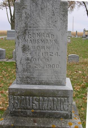 HAUSMANN, CONRAD - Sac County, Iowa | CONRAD HAUSMANN
