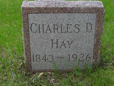 HAY, CHARLES D. - Sac County, Iowa | CHARLES D. HAY