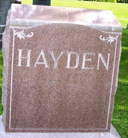 HAYDEN, FAMILY MEMORIAL - Sac County, Iowa | FAMILY MEMORIAL HAYDEN