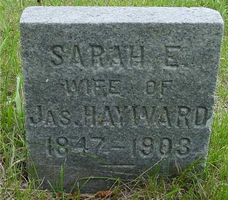 HAYWARD, SARAH E. - Sac County, Iowa   SARAH E. HAYWARD