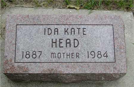 HEAD, IDA KATE - Sac County, Iowa | IDA KATE HEAD