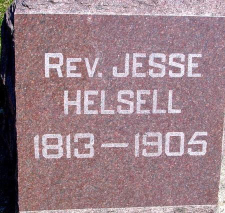 HELSELL, REV. JESSE - Sac County, Iowa | REV. JESSE HELSELL
