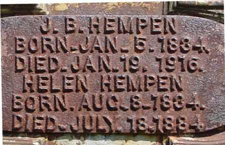 HEMPEN, J. B.  & HELEN - Sac County, Iowa | J. B.  & HELEN HEMPEN