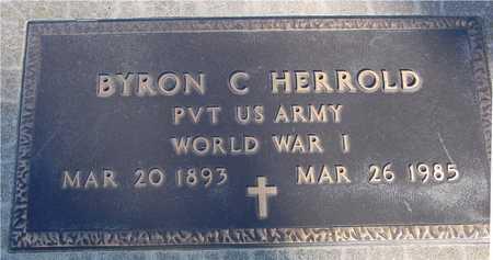 HERROLD, BYRON C. - Sac County, Iowa | BYRON C. HERROLD