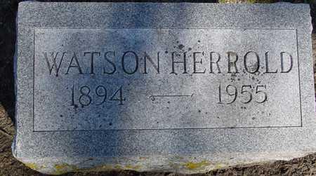 HERROLD, WATSON - Sac County, Iowa | WATSON HERROLD