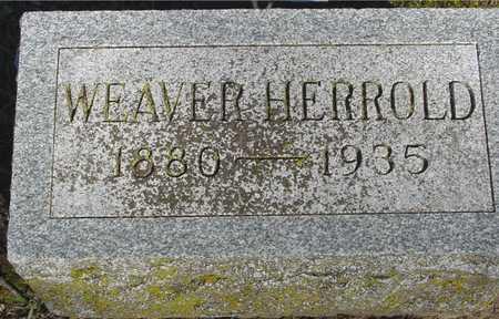 HERROLD, WEAVER - Sac County, Iowa | WEAVER HERROLD