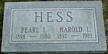 HESS, HAROLD & PEARL - Sac County, Iowa | HAROLD & PEARL HESS