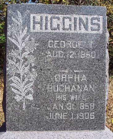 HIGGINS, GEORGE T - Sac County, Iowa | GEORGE T HIGGINS
