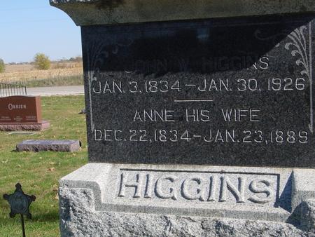 HIGGINS, JOHN - Sac County, Iowa | JOHN HIGGINS